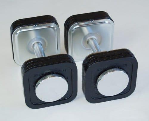 Ironmaster 45 lb Quick-Lock Adjustable Dumbbell System