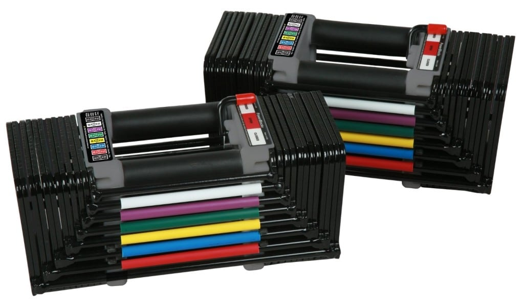 PowerBlock Classic 70 Dumbbell Set