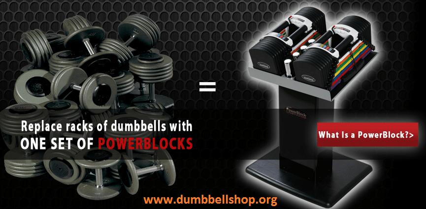 PowerBlock Classic 70 Dumbbell Set