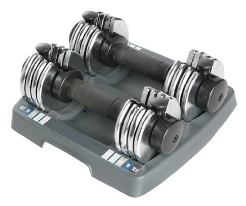 ProForm SpaceSaver 25 lb. Double Dumbbells