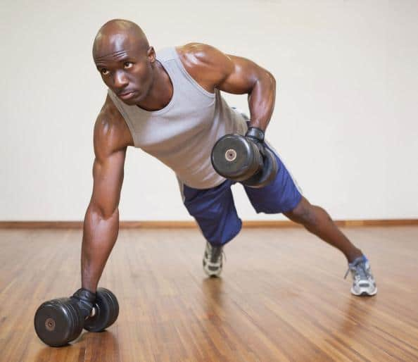 How to Build Muscles with Dumbbells at Home