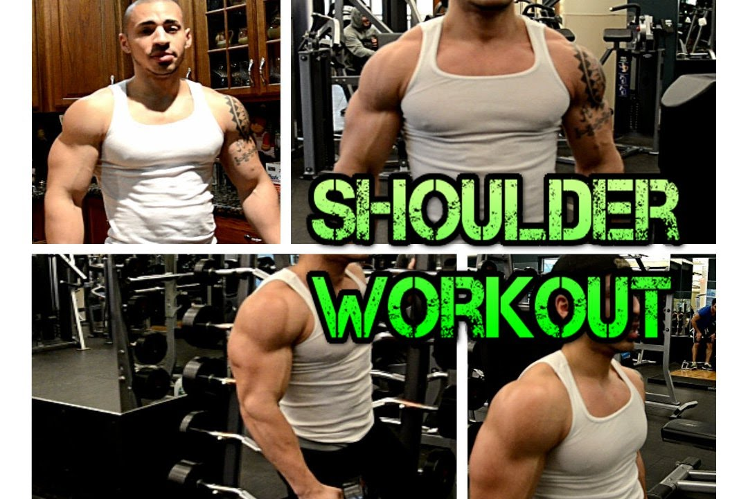 how to build up shoulder muscles with dumbbells